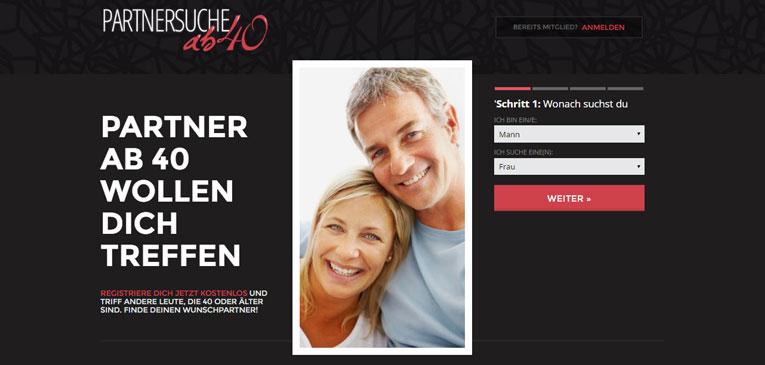 Partnersuche ab 40