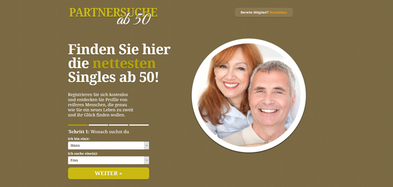 Beste partnersuche ab 50